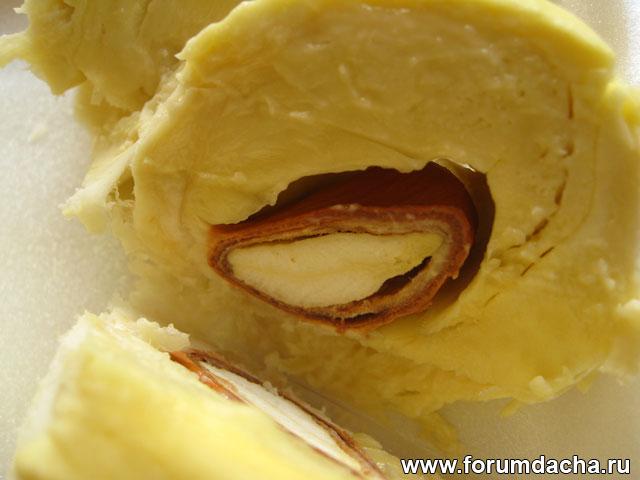 Фрукт дуриан, вкус дуриана