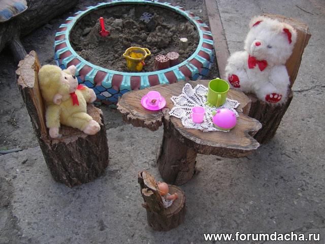 Сказочная детская площадка своими руками