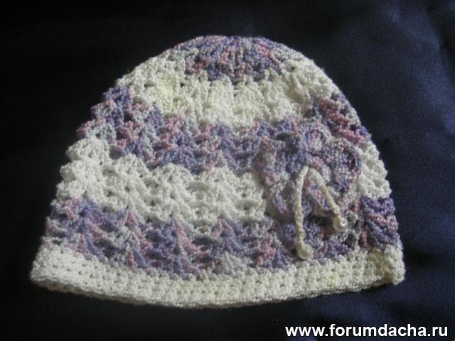 шапочка вязанная