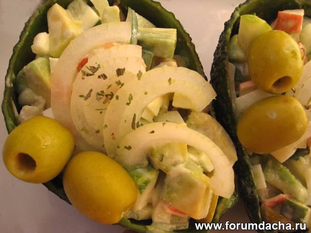 Приготовить из авокадо