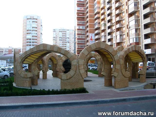 Stonehenge in Krasnodar city. Краснодарский Стоунхэдж.