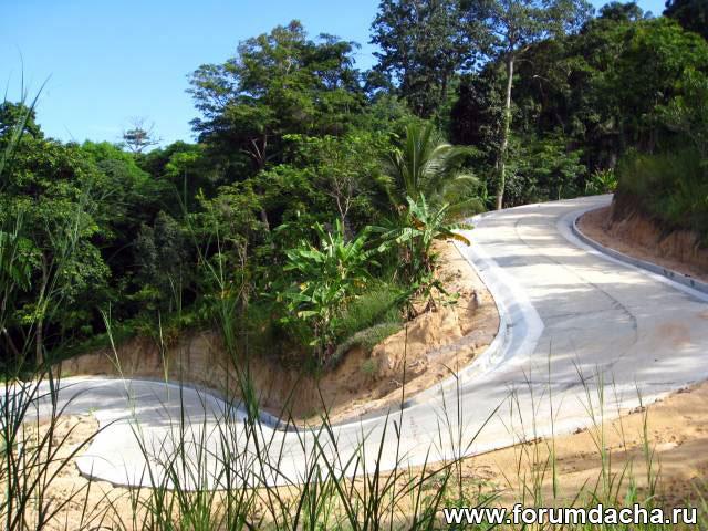 дороги в Тайланде