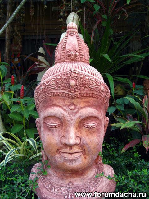 статуи в саду, статуя