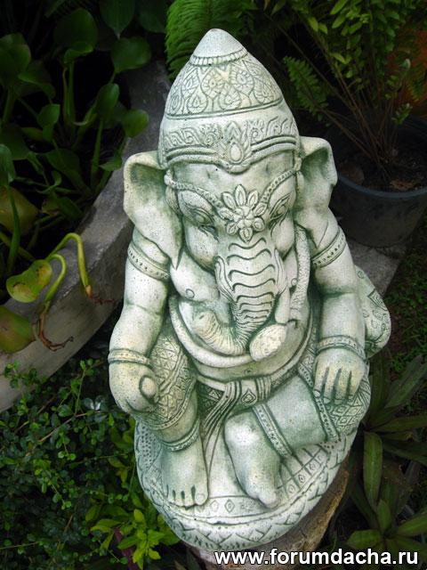 слон, статуя слона