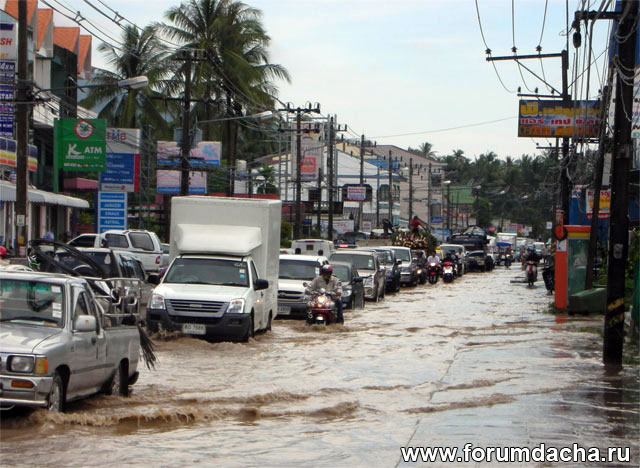 потоп после дождя